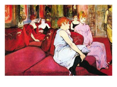 Salon In The Rue De Moulins