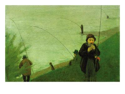 Anglers On The Rhine