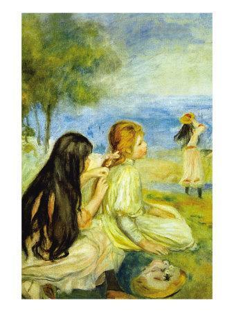 Girls By The Seaside