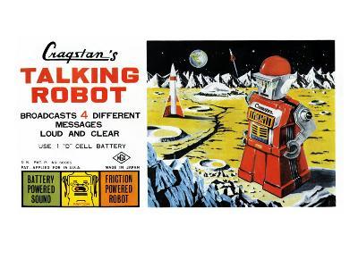 Cragstan Talking Robot