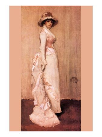 Nocturne In Pink and Gray, Portrait of Lady Meux