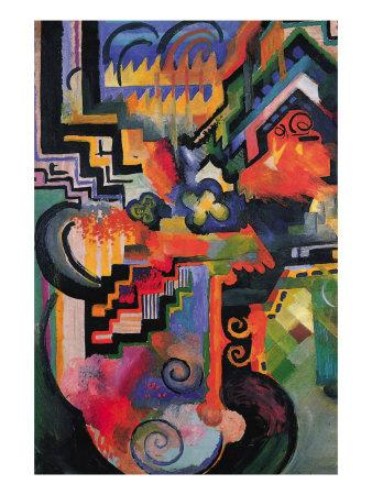Colored Composition (Homage ? Sebastian Johann Bach)