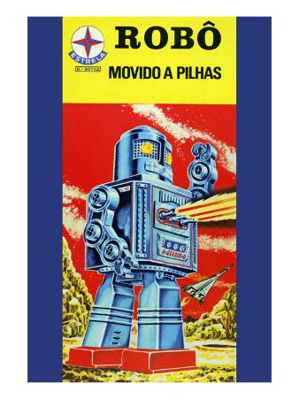 Robo - Movido a Pilhas