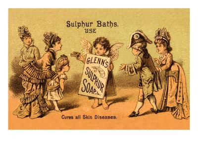 Glenn's Sulphur Soap - Cures All Skin Diseases