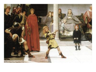 The Education of Children Clovis, Detail