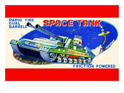 Rapid Fire Dual Barrell Space Tank