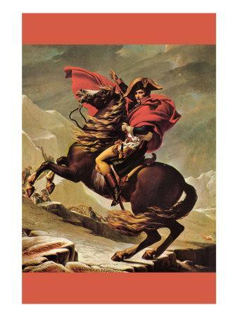 Napoleon Crosses The Great St. Bernard Pass