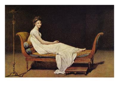 Portrait of Madame R?mier