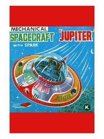 Mechanical Spacecraft Jupiter