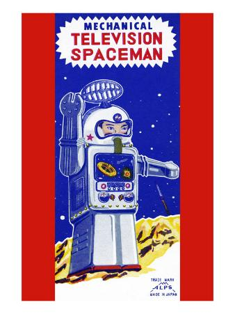 Mechanical Television Spaceman