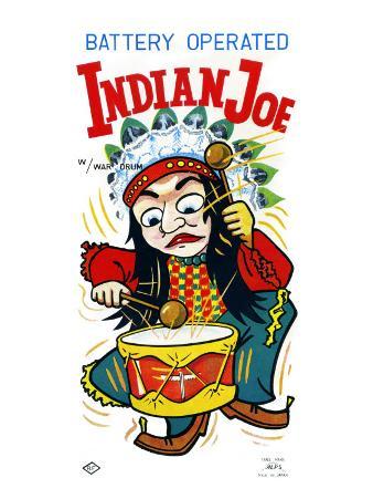 Battery Operate Indian Joe