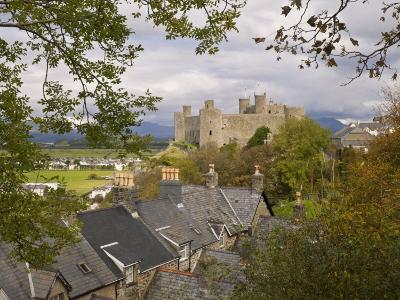 Harlech Castle, UNESCO World Heritage Site, Gwynedd, Wales, United Kingdom, Europe