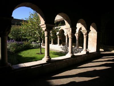 Cuxa Cloister Dating from the 12th Century, Cloisters of New York, New York