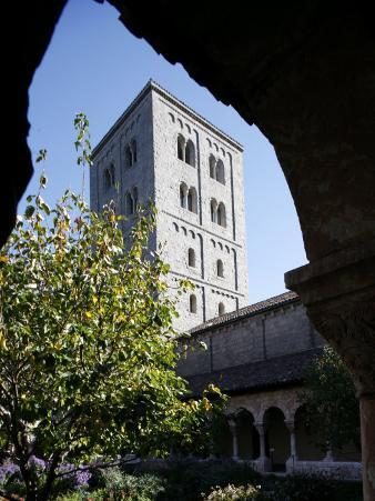 Cuxa Cloister, the Cloisters of New York, New York, United States of America, North America