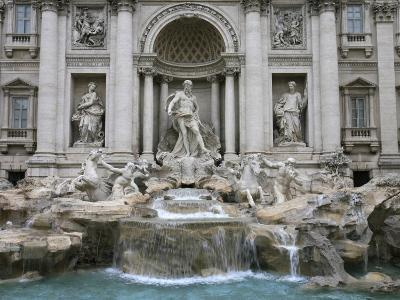 Trevi Fountain by Nicola Salvi Dating from the 17th Century, Rome, Lazio, Italy, Europe