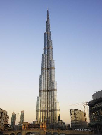 Burj Khalifa, the Tallest Tower in World at 818M, Downtown Burj Dubai, United Arab Emirates