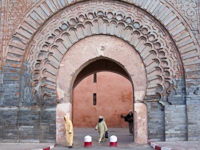 Bab Agnaou (Bab Er Rob), Marrakech (Marrakesh), Morocco, North Africa, Africa