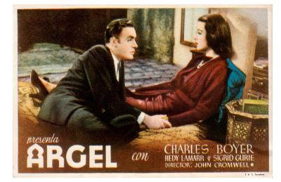 Algiers, Belgian Movie Poster, 1938