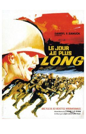 The Longest Day, French Movie Poster, 1962