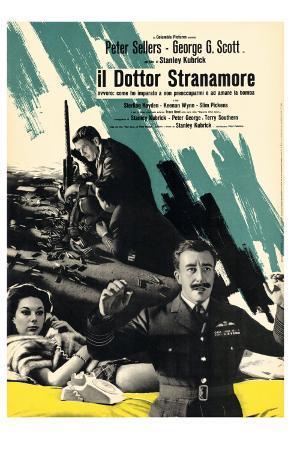 Dr. Strangelove, Italian Movie Poster, 1964
