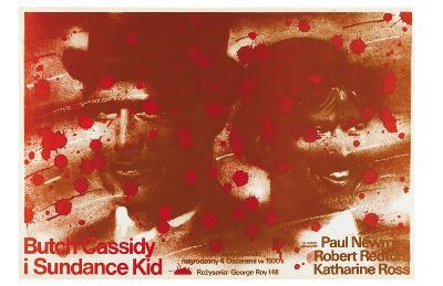 Butch Cassidy and the Sundance Kid, Polish Movie Poster, 1969