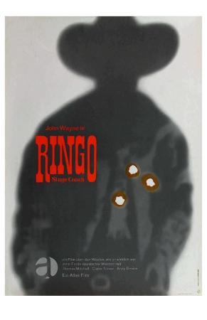 Stagecoach, German Movie Poster, 1939