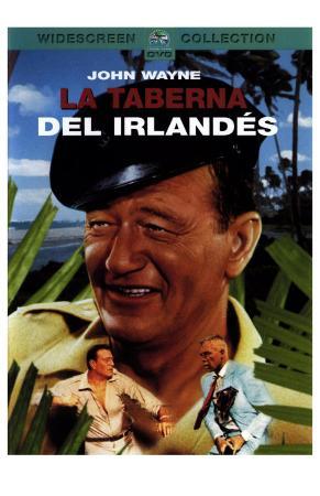 Donovan's Reef, Spanish Movie Poster, 1963
