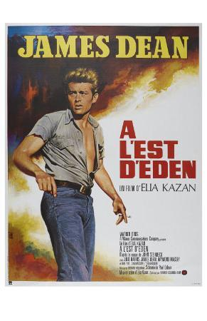 East of Eden, French Movie Poster, 1955
