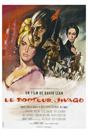 Doctor Zhivago, French Movie Poster, 1965