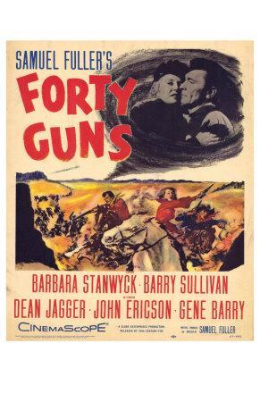 Forty Guns, 1957