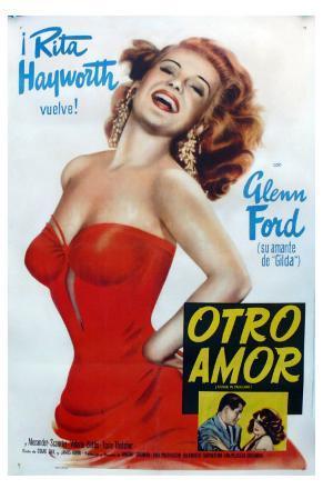 Affair in Trinidad, Argentine Movie Poster, 1952