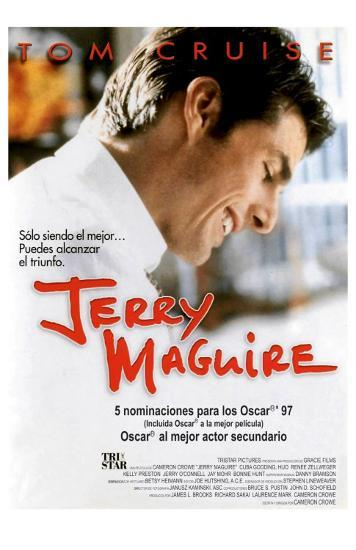 Jerry Maguire, Spanish Movie Poster, 1996