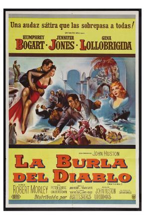Beat the Devil, Argentine Movie Poster, 1953