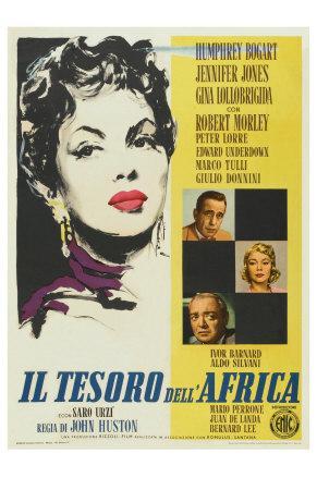 Beat the Devil, Italian Movie Poster, 1953