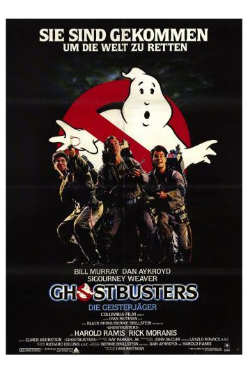 Ghostbusters German Movie Poster 1984 Photo At Allposterscom