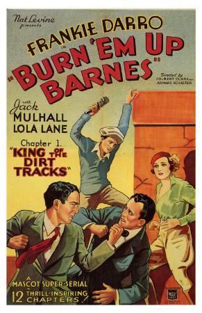 Burn 'em Up Barnes, 1934