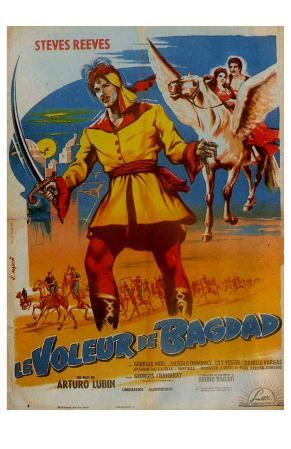 The Thief of Baghdad, French Movie Poster, 1924