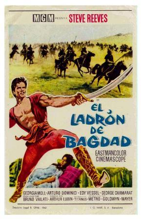 The Thief of Baghdad, Spanish Movie Poster, 1924