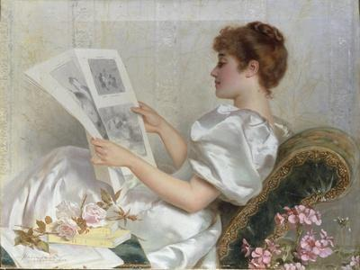 Lady Looking at Drawings, 1894