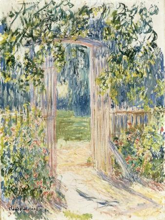 La Porte du Jardin, Vetheuil, 1881
