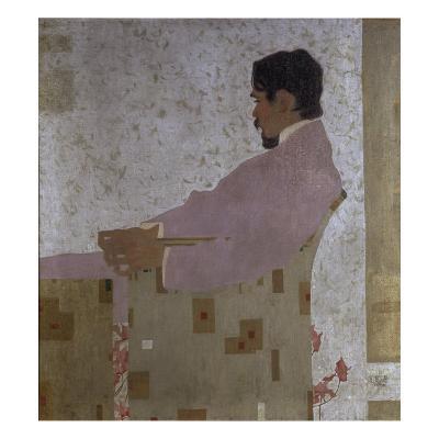 Portrait of the Artist Anton Peschka