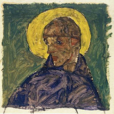 Kopf eines Heiligen (Head of a Saint), c.1913