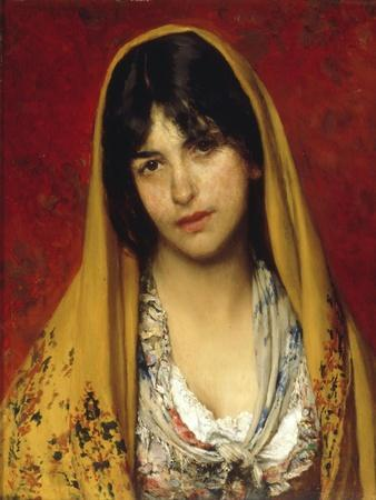 Young Girl with Veil, 1882