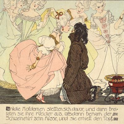The Princess amnd the Swineherd, 1897