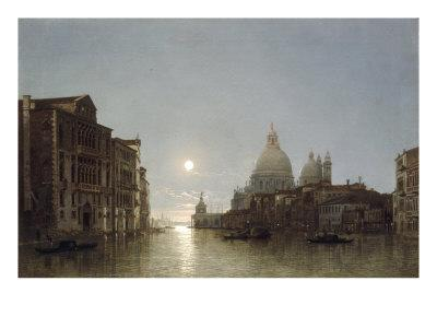 The Grand Canal by Moonlight