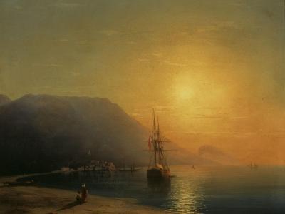 Sunset off Ayu Dag in the Crimea, 1861