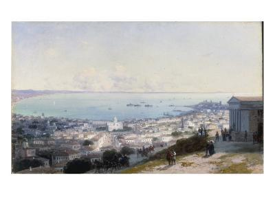 An Extensive View of Theodosia in the Crimea, 1890