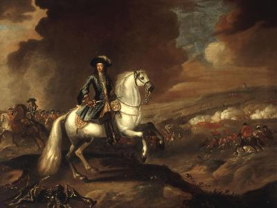 William III at the Battle of the Boyne, July 1st 1690