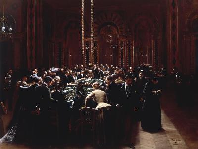 The Casino at Monte Carlo (Rien ne va plus), 1890