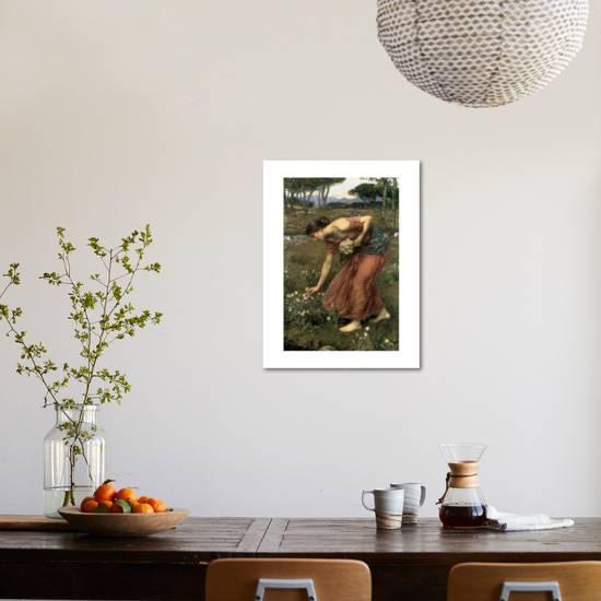 John William Waterhouse Echo and Narcissus Photographic